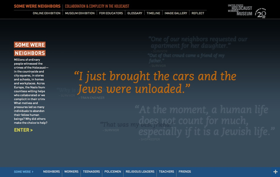 Project image 1 for Some Were Neighbors: Collaboration & Complicity in the Holocaust, US Holocaust Memorial Museum