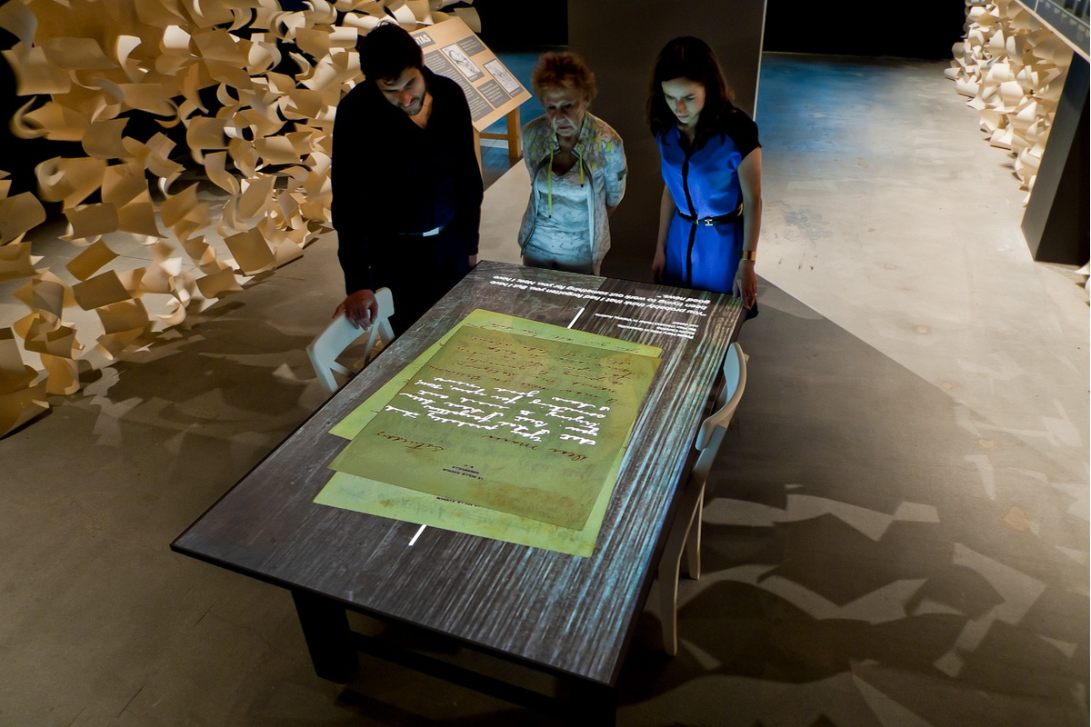 Project image 2 for Against The Odds - Motion & Multimedia, Museum of Jewish Heritage