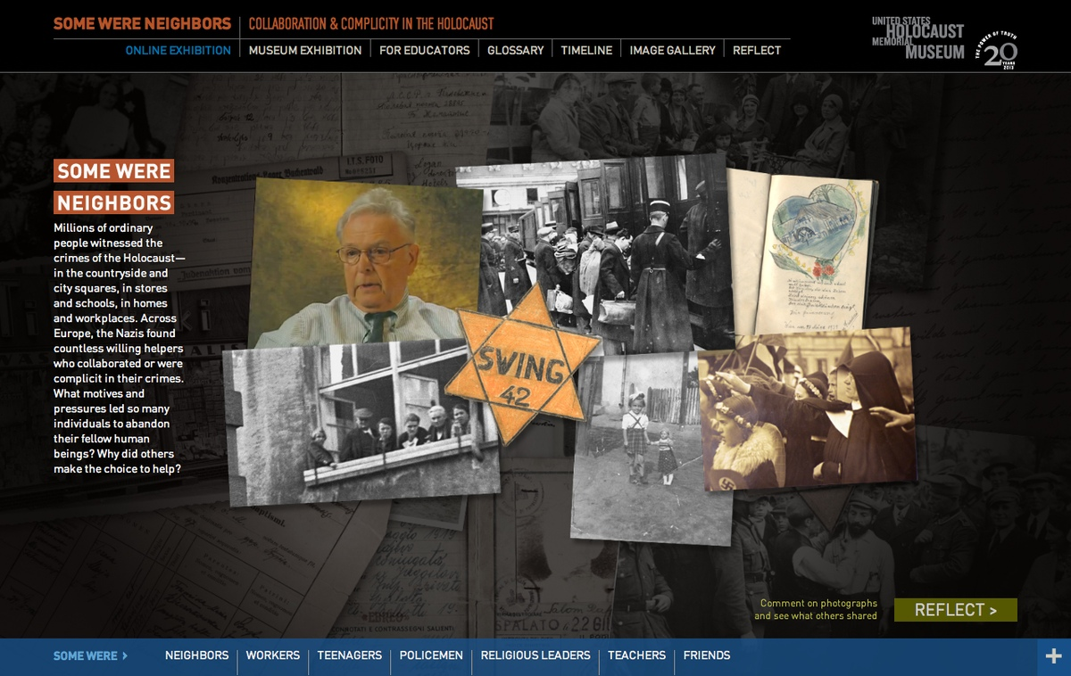 Project image 2 for Some Were Neighbors: Collaboration & Complicity in the Holocaust, US Holocaust Memorial Museum