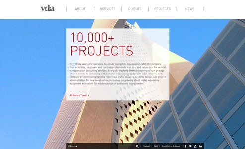Project Image for Websites, VDA