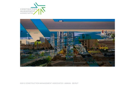 Project image 3 for Website, Construction Management Associates