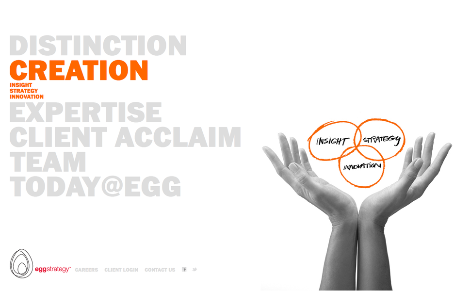 Project image 3 for Website, Egg Strategy