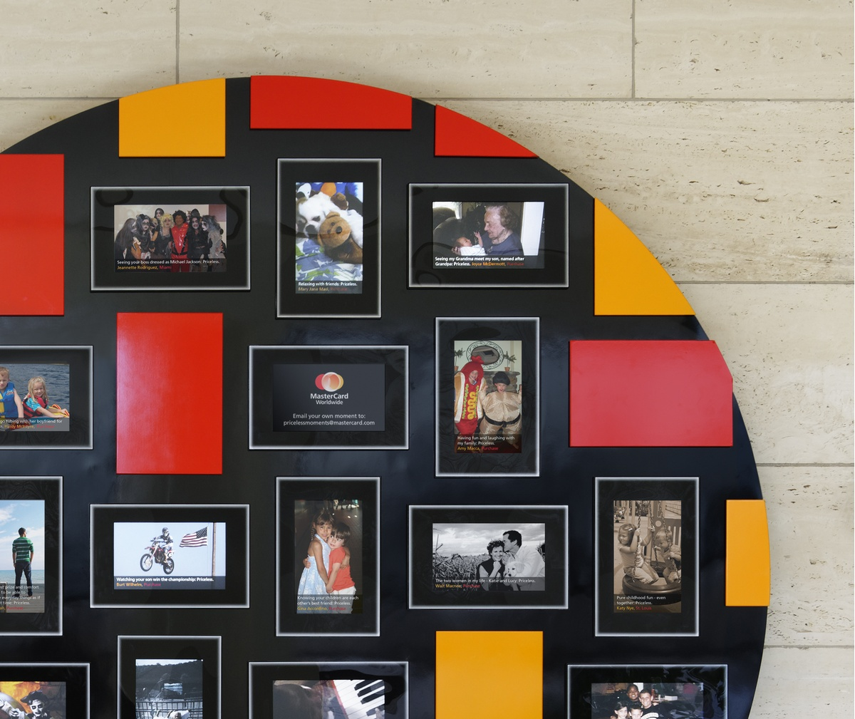 Project image 3 for MasterCard Project Spirit - Priceless Faces Wall, MasterCard Worldwide