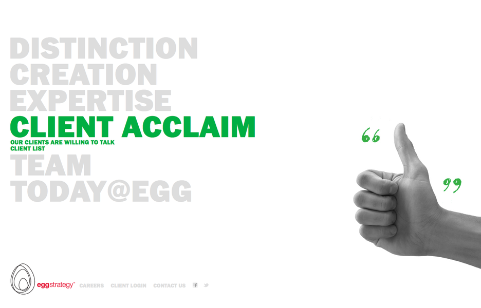 Project image 4 for Website, Egg Strategy