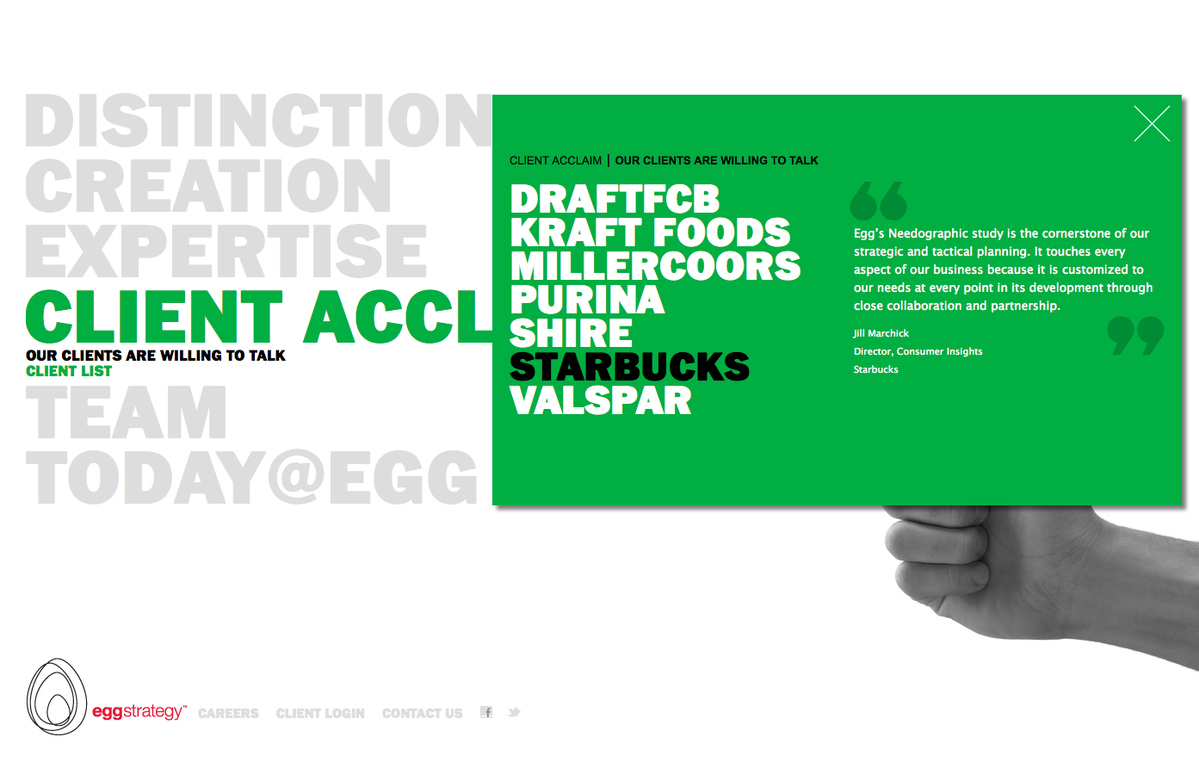 Project image 5 for Website, Egg Strategy