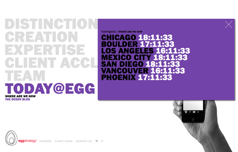 Project image 6 for Website, Egg Strategy