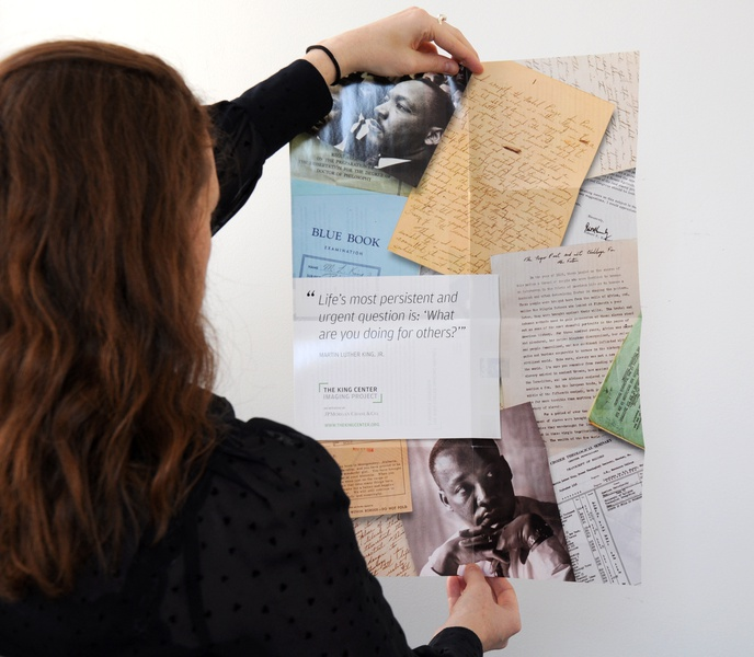JP Morgan Chase & Co., King Center Imaging Project Booklet / Poster