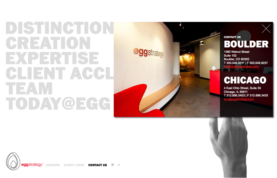 Project image 7 for Website, Egg Strategy