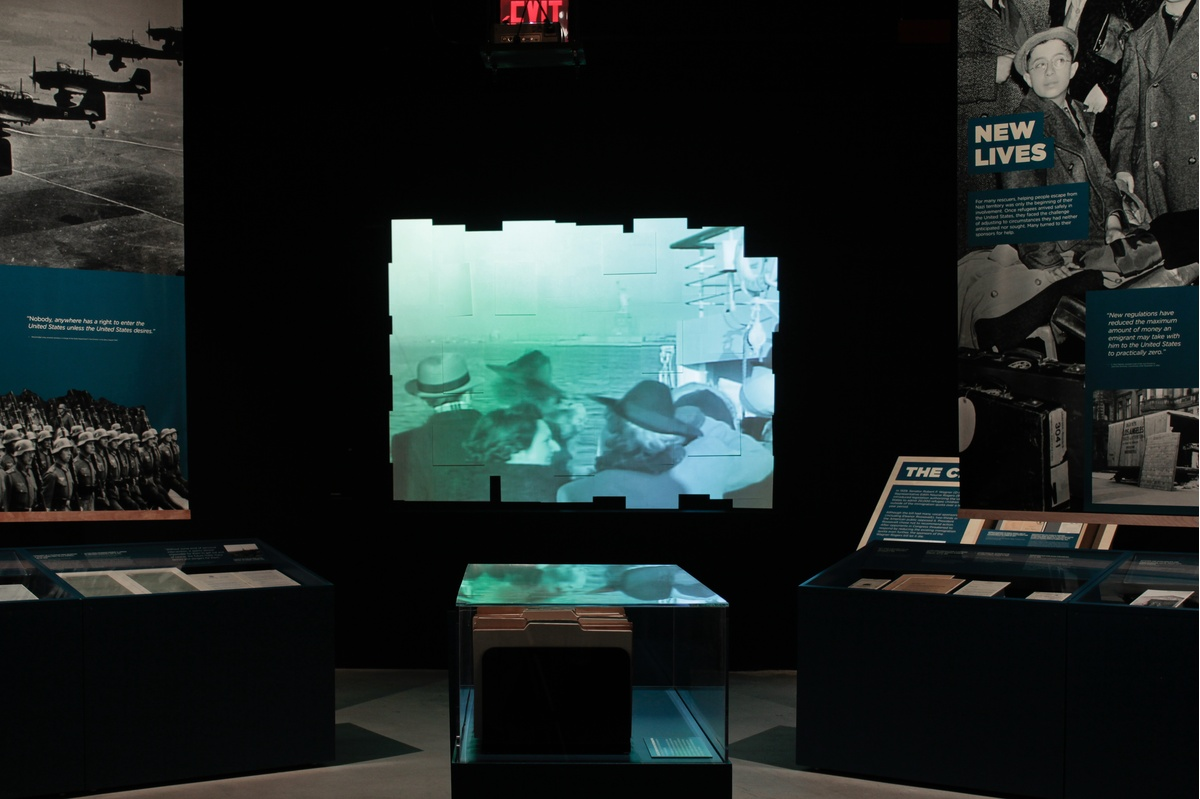Project image 11 for Against The Odds - Motion & Multimedia, Museum of Jewish Heritage