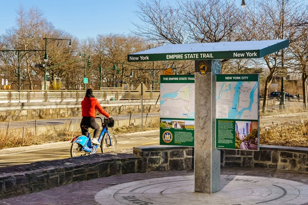 A Wayfinding System for the Longest State Trail in America