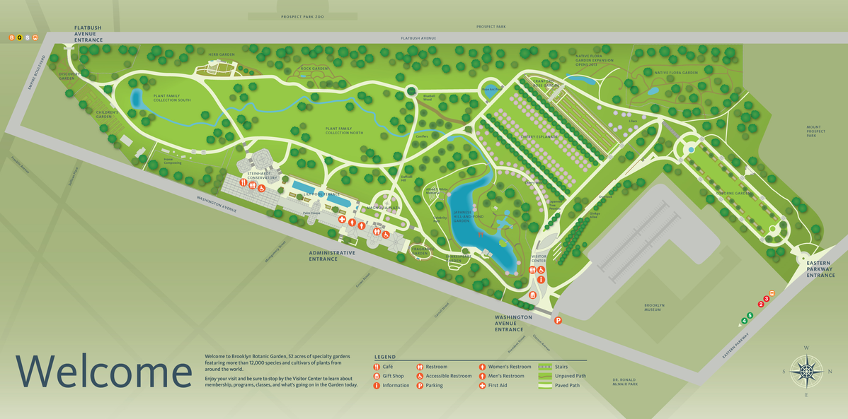 Project image 2 for Signs & Wayfinding, Brooklyn Botanic Garden