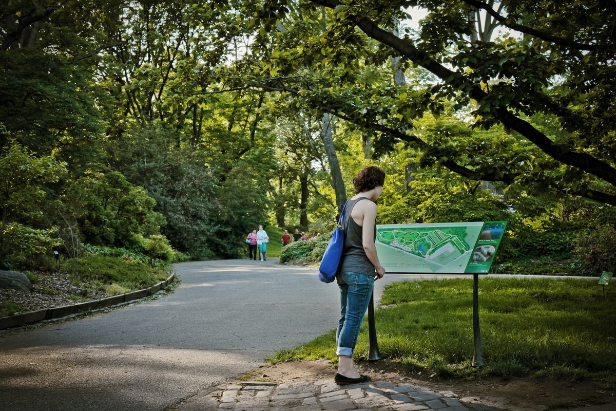 Project image 3 for Signs & Wayfinding, Brooklyn Botanic Garden