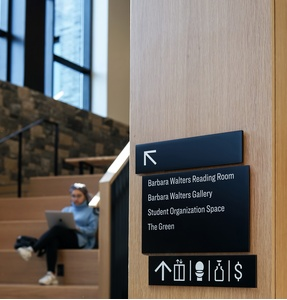 Higher Education Signage Design