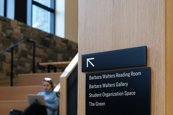 Signage & Wayfinding for Higher Ed at Sarah Lawrence College