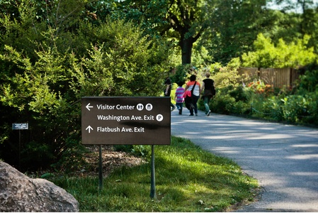 Project Image 6 for SIgns & Wayfinding, Brooklyn Botanic Garden