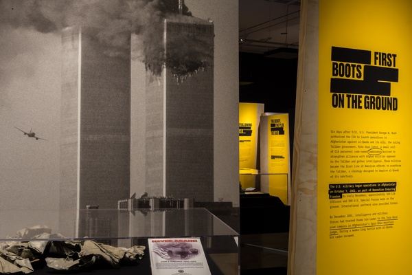 """Revealed: The Hunt for Bin Laden"" Exhibit Design Wins a Rare Comm Arts Award of Excellence"