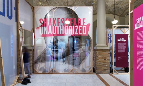 William Shakespeare exhibitions