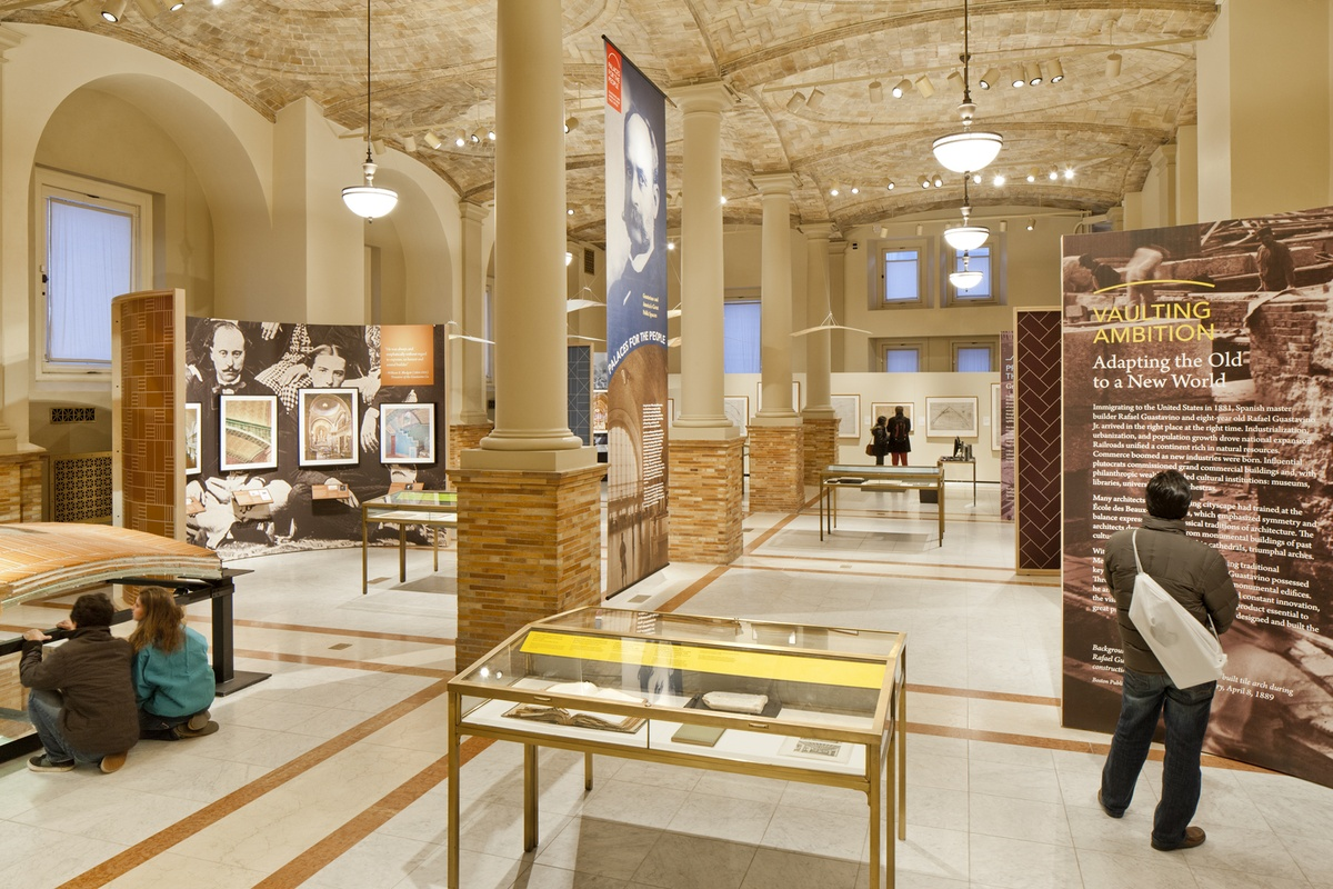 Project image 1 for Palaces For The People / Guastavino, Boston Public Library
