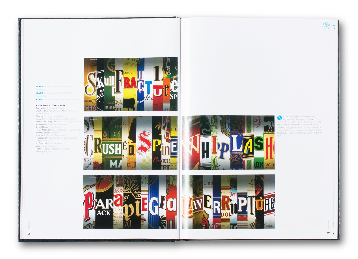 Project image 4 for Art Directors Annual Book, Art Directors Club of New York