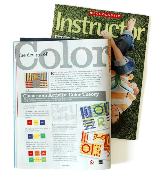 Project image 3 for Coloring Activity Poster, American Institute of Graphic Arts