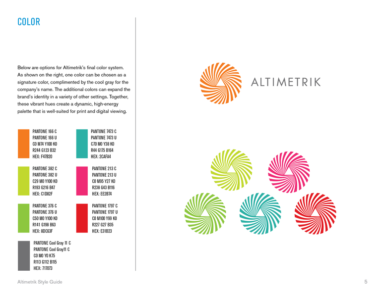 Project image 5 for Brand Identity, Altimetrik