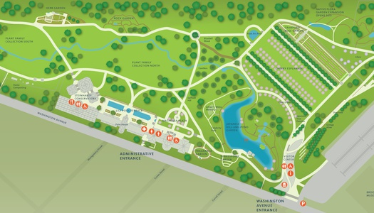 Project Image for Infographics, Brooklyn Botanic Garden Closeup