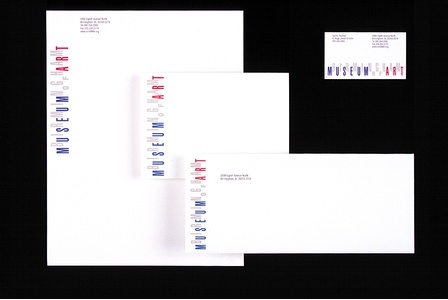Project image 2 for Identity & Collateral, Birmingham Museum of Art