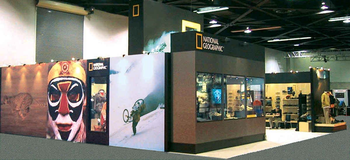 National Geographic Society, Trade Show Booth