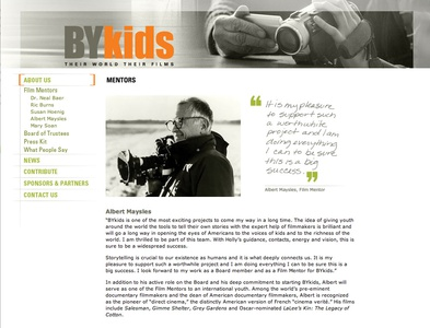 Project image 3 for Website, BYkids