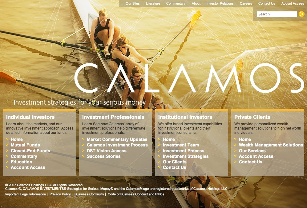 Project image 2 for Identity, Calamos Investments