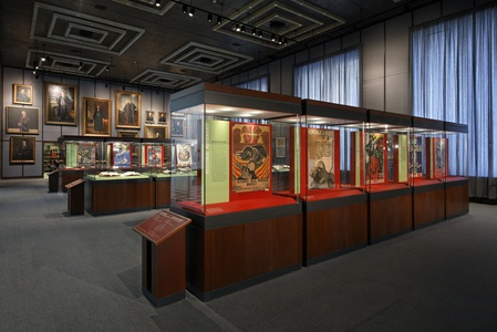 New York University, Bobst Library, Mediterranean Mirror & Art and Politics Exhibits