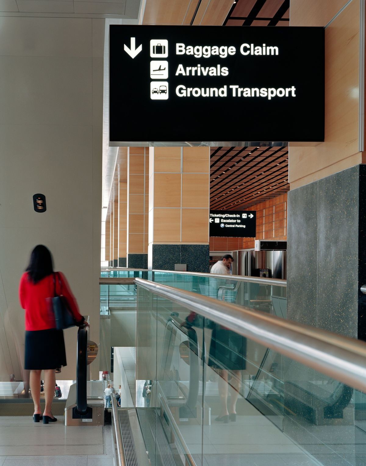 Project image 2 for Terminal E Signage, Logan International Airport