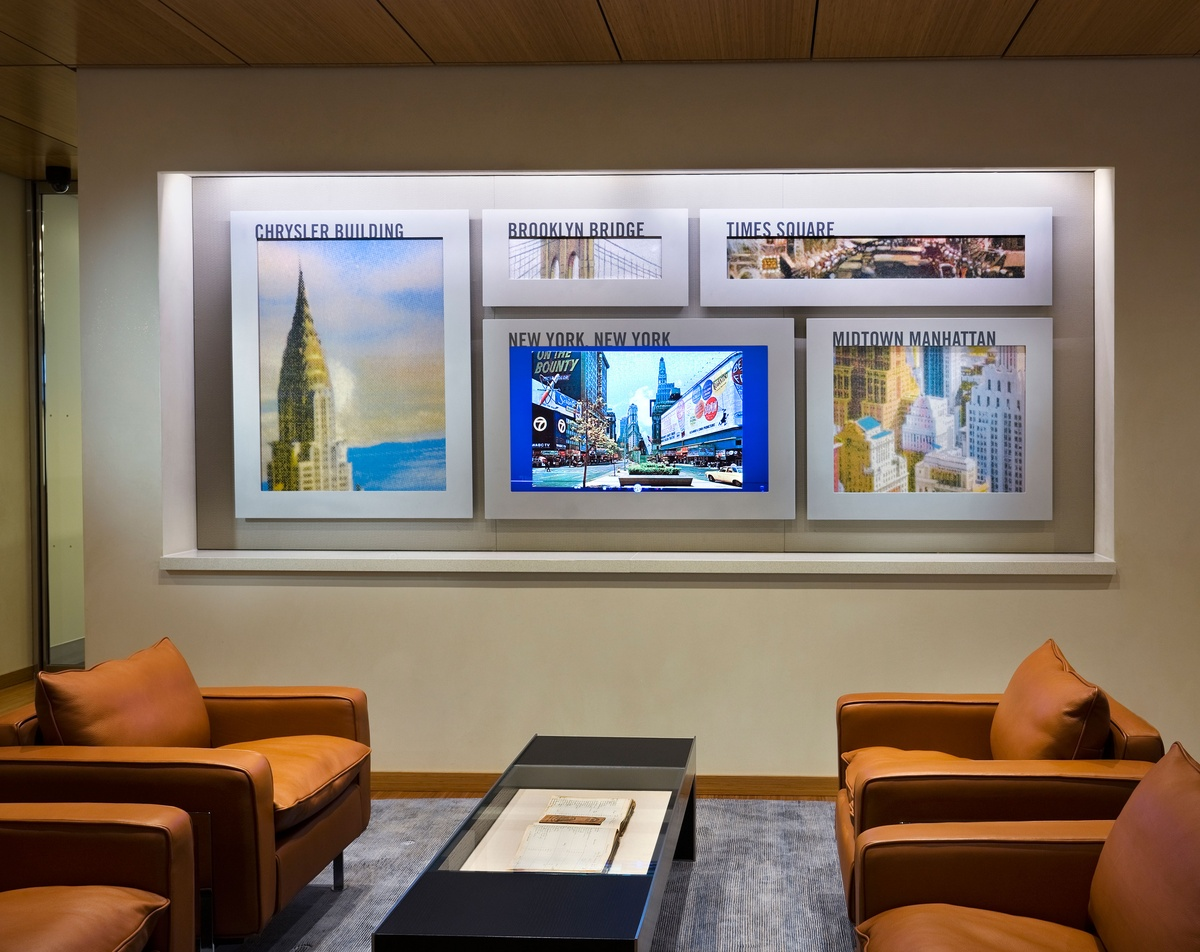 Project image 4 for Durst Office Art Program, Bank of America / Durst Organization