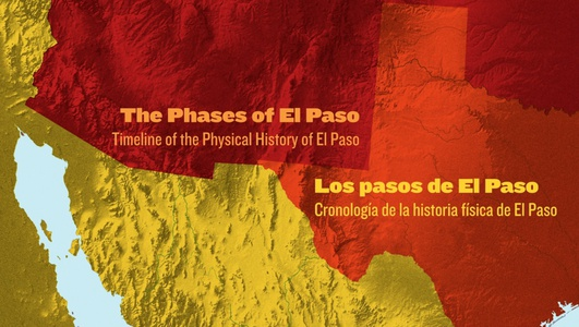 Project image 1 for Interactive Animated Map, El Paso Museum of History