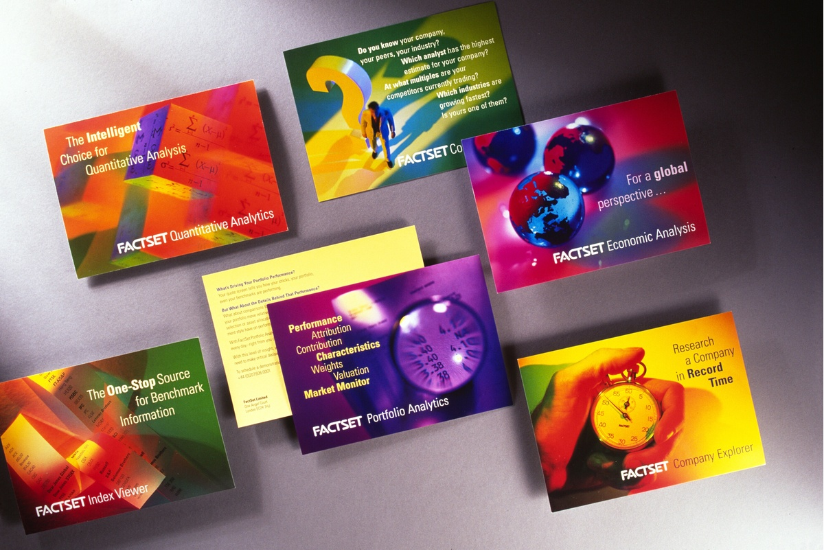 Project image 3 for Print Communication, FactSet Research Systems