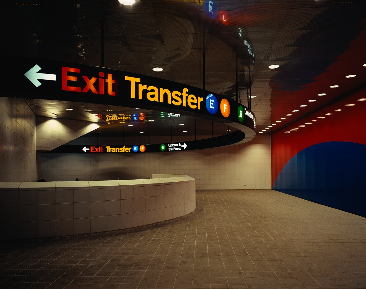 Project image 2 for 53rd & Lex Subway Signage, Metropolitan Transit Authority