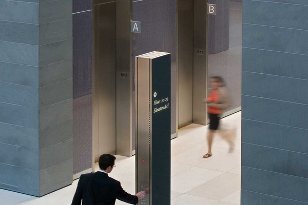 "Hearst Tower Signage Design Featured in ""Designing Orientation"""