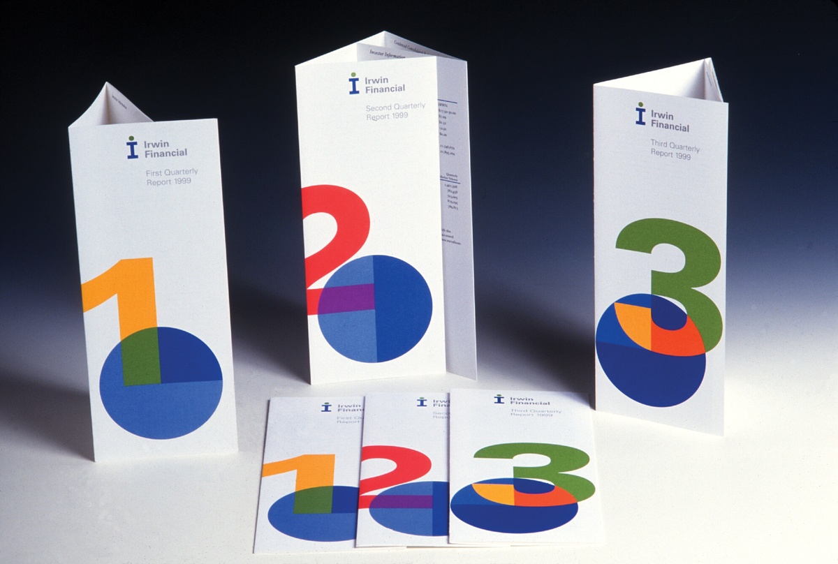 Project image 2 for Printed Materials & Annual Reports, Irwin Financial Corp.