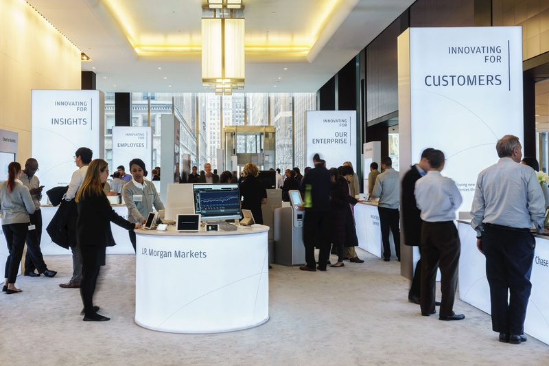 JPMorgan Chase & Co. Investor Day Event Design