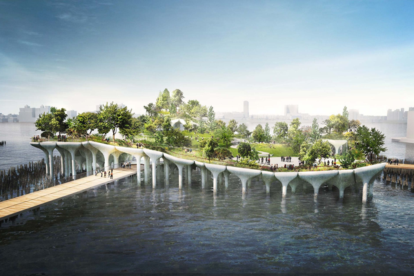 Designing for New York's Public Park Rising Above the Hudson River