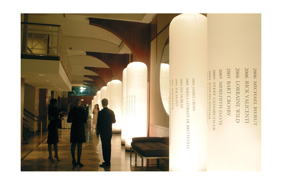 Project image 2 for Design Legends Gala, American Institute of Graphic Arts