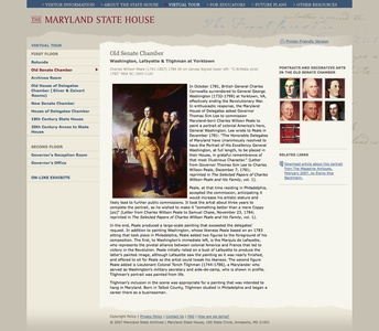 Project image 4 for Website, Maryland State House