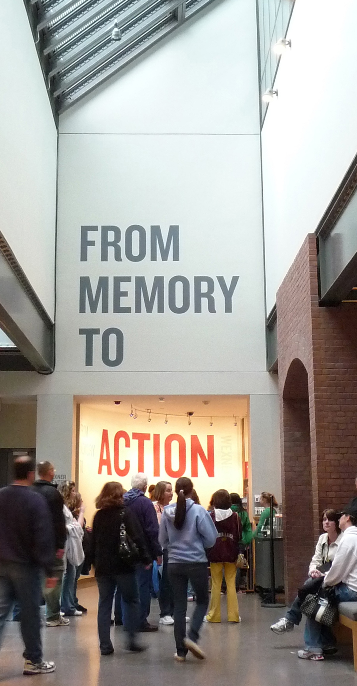 Project image 1 for From Memory to Action, US Holocaust Memorial Museum