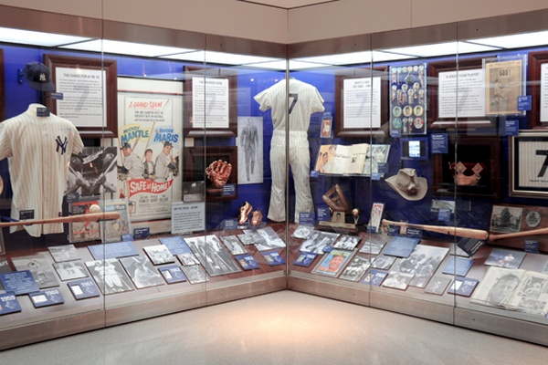 Fresh Project: Mickey Mantle at Yankee Stadium Museum