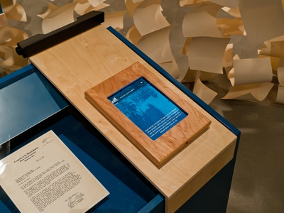 Project Image for Museum of Jewish Heritage, Against the Odds Interactive