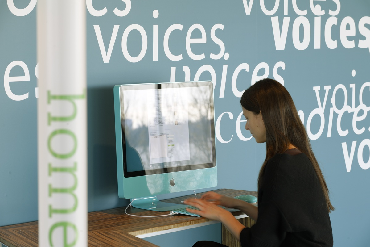 Project image 3 for Voices of Liberty Website & Kiosk, Museum of Jewish Heritage