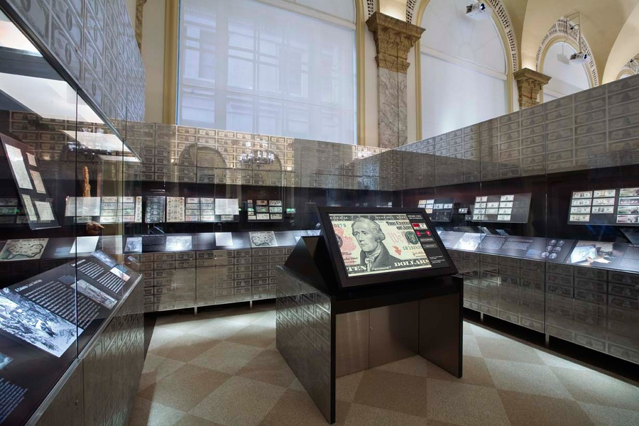 Project image 2 for Core Exhibits, Museum of American Finance