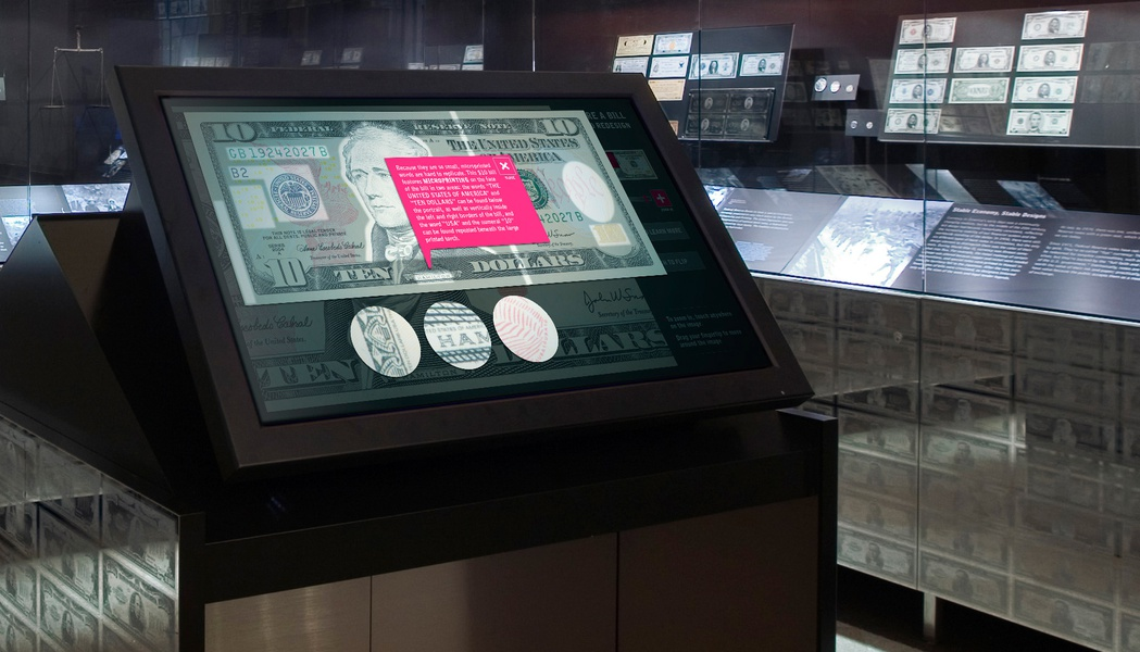 Project image 2 for Document Explorer, Museum of American Finance
