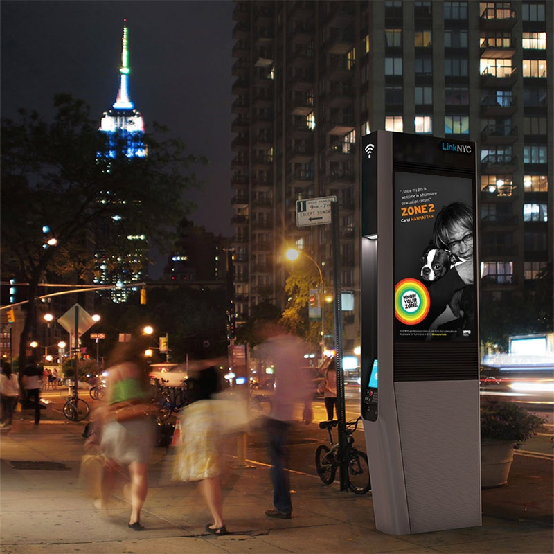 Know Your Zone on LinkNYC