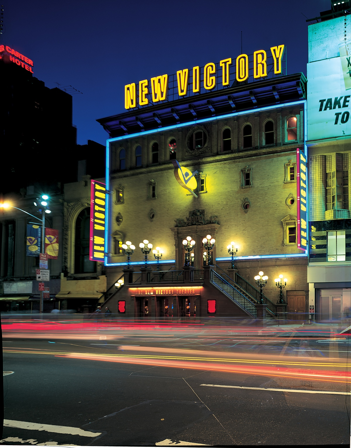 New 42nd Street Corporation, New Victory Theater Signage